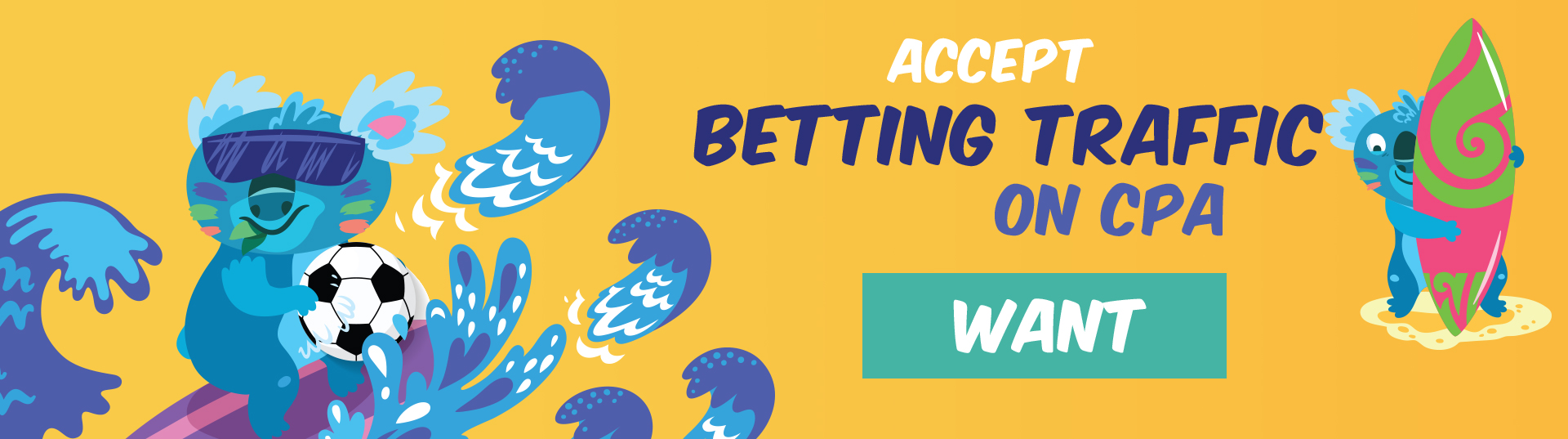 Want CPA for Betting